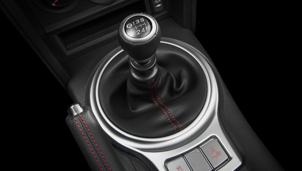2020 Subaru BRZ 6-speed Manual Transmission (6MT)