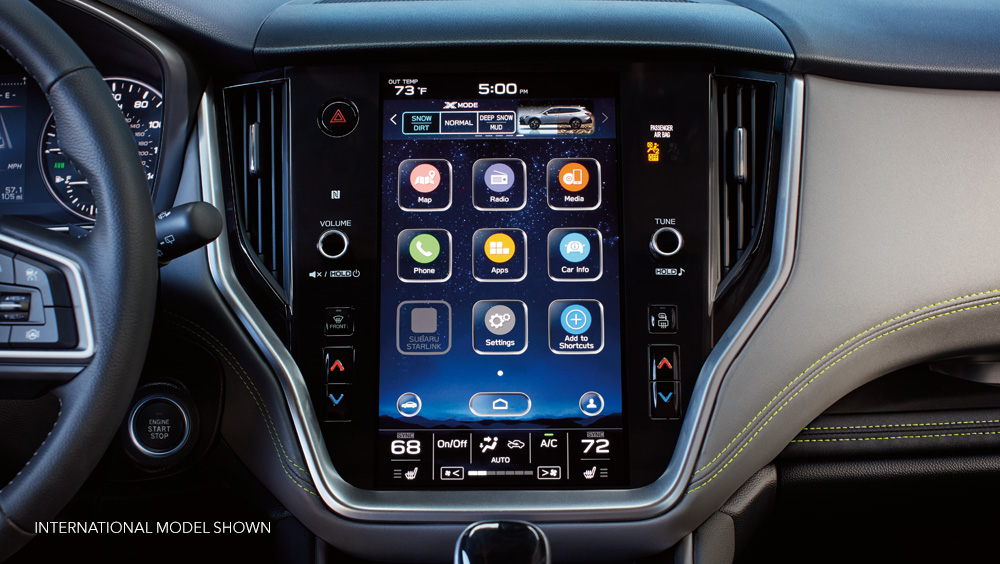 2020 Subaru Outback - New infotainment systems